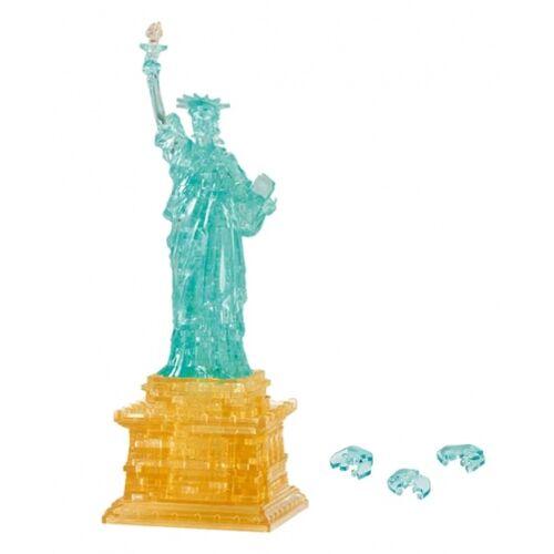 Crystal Puzzle 3D Puzzle Vrijheidsbeeld gold/blau 78 Teile