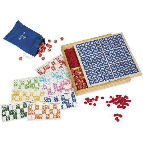 Dal Negro bingo Set Tombola 29,5 x 29,5 cm Holz/Pappe