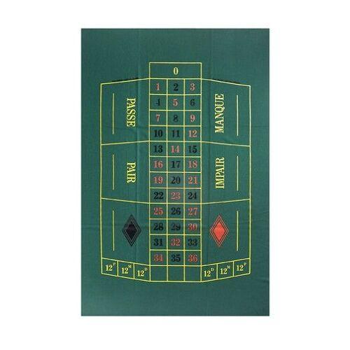 Dal Negro roulette Tuch 90 x 130 cm Wollgrün