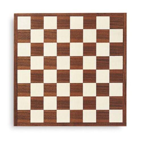 Dal Negro schachbrett 45 x 45 cm Holz braun/weiß