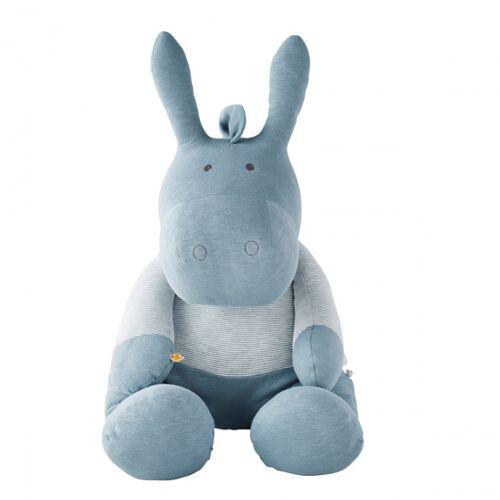 DAM stofftier Noukie's Paco junior 70 cm Bio Baumwolle blau