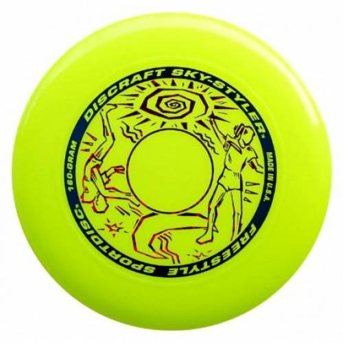 Discraft Sky Styler Frisbee 26,5 cm 160 Gramm gelb
