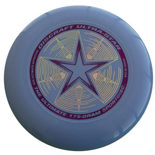 Discraft Ultra Star Frisbee 27,5 cm 175 Gramm blau