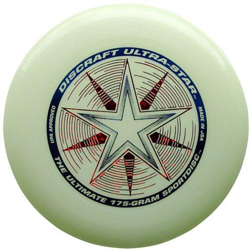 Discraft Ultra Star Nite Glo 27,5 cm 175 Gramm weiß