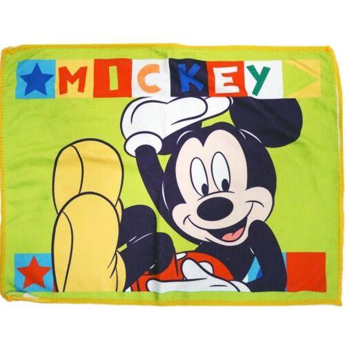 Disney handtuch Mickey junior 40 x 30 cm Baumwolle grün