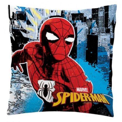 Disney kissen Spiderman Polyester 35 x 35 cm blau/rot