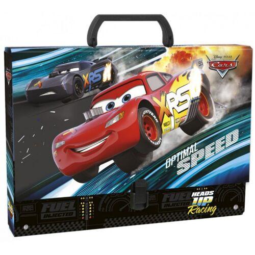 Disney aufbewahrungskoffer Cars junior 33 x 24 cm Karton schwarz/rot