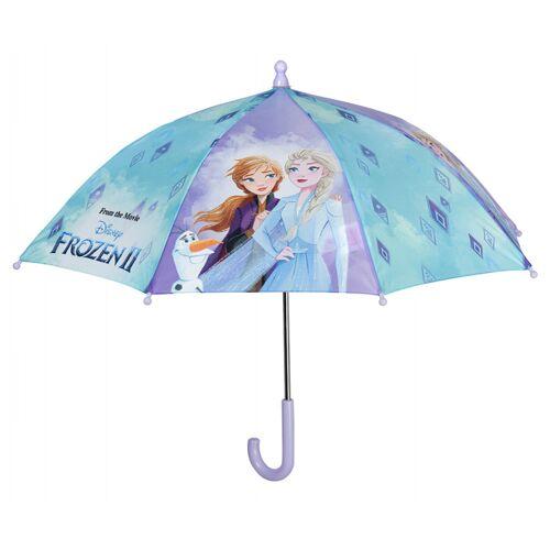 Disney regenschirm Frozen 2 Mädchen 66 cm blau/violett