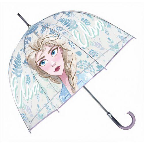 Disney regenschirm Frozen junior 60 x 70 cm transparent/violett