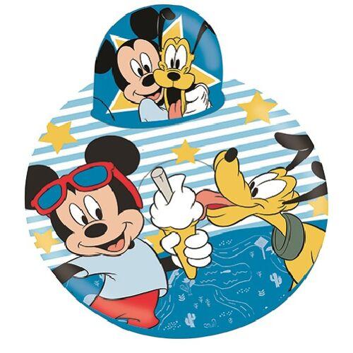 Disney sitzkissen Mickey Mouse aufblasbar 60 x 40 cm blau