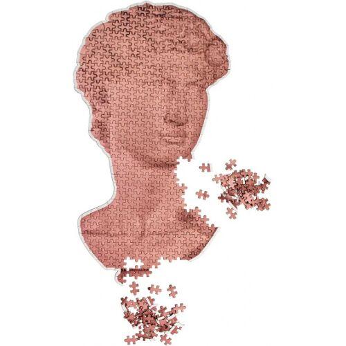 Doiy puzzle David Statue 50 cm Papier Bronze 500 Teile