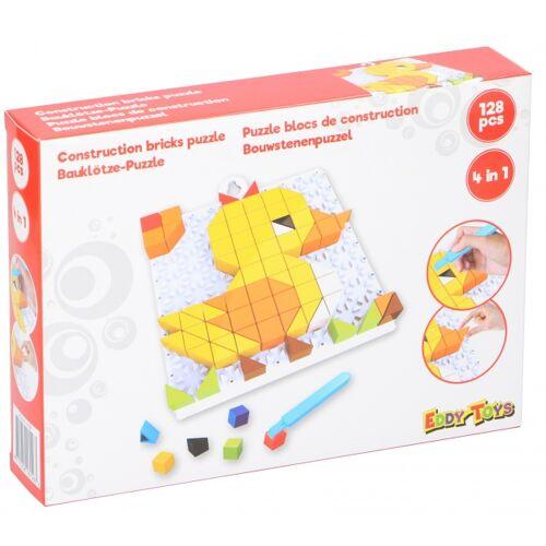 Eddy toys mosaik Puzzle EendJunior rot 128 teilig