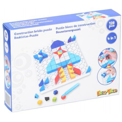 Eddy Toys mosaik RaketPuzzle Junior lila 128 teilig