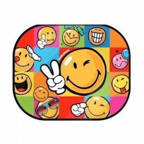 Emoji Sonnenschirm Smiley gesetzt 2 Stück