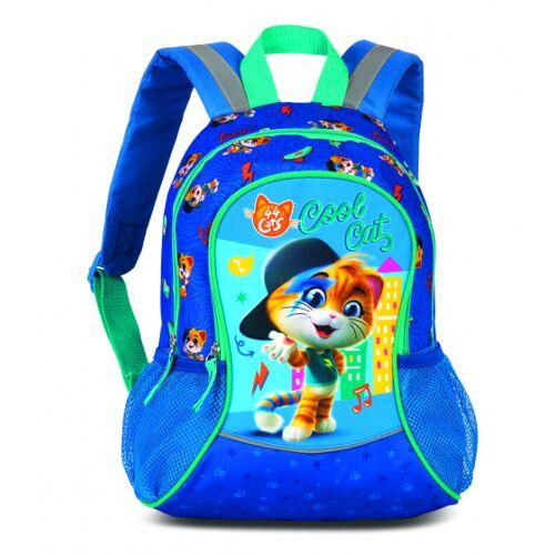 Fabrizio rucksack mit Seitentaschen Cats 44 7 Liter blau