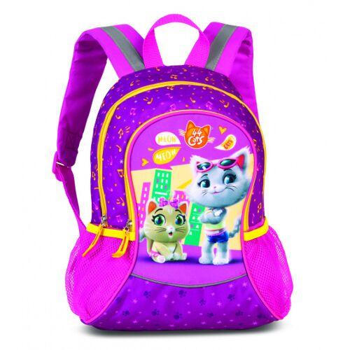 Fabrizio rucksack mit Seitentaschen Cats 44 14 Liter rosa