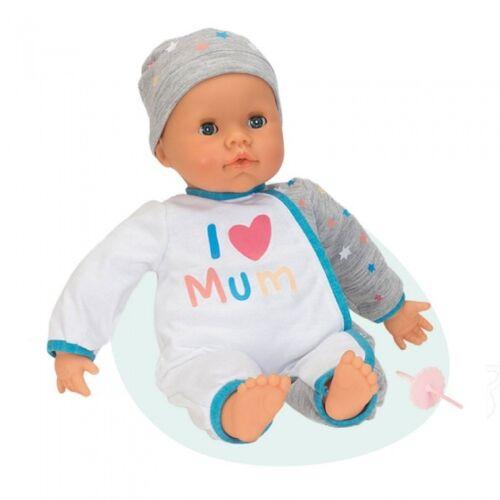 Falca interaktive Babypuppe 38 cm ich liebe Mama weiß