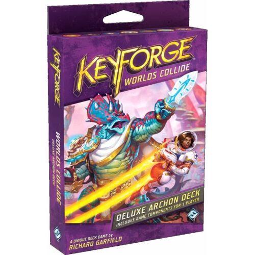 Fantasy Flight kartenspiel KeyForge  Worlds Collide Deluxe