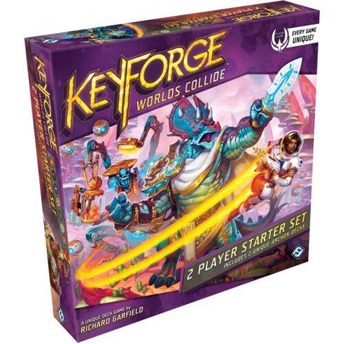 Fantasy Flight kartenspiel KeyForge  Worlds Collide Starter Set