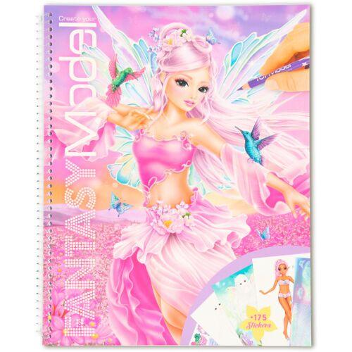 Fantasy Model färbung Fantasy Mädchen 29 cm Papier rosa