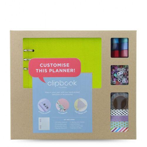 Filofax notizbuch Creative Kit A5 Papier/Kunstleder grün