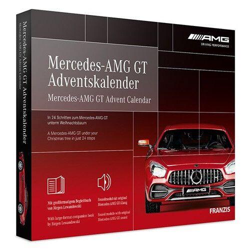 Franzis adventskalender Mercedes AMG GT rot 24 teilig