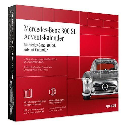 Franzis adventskalender Mercedes Benz 300 SLrot 24 teilig