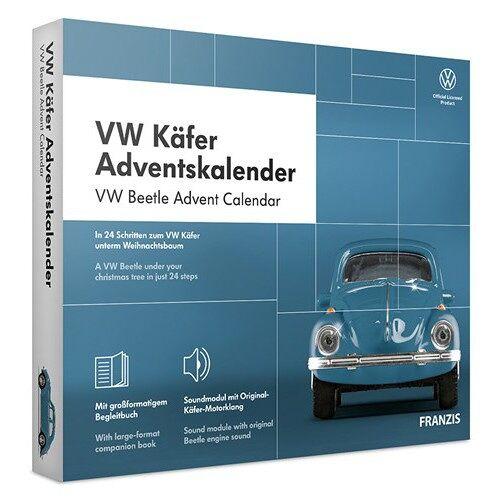 Franzis adventskalender Volkswagen Käfer blau 24 teilig (DU/en)