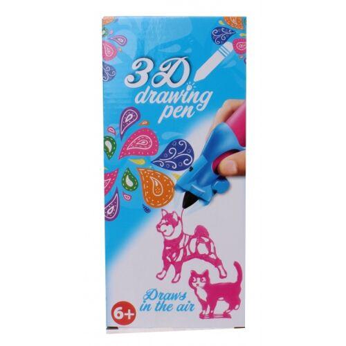 Free and Easy 3D Zeichenstift rosa 14 x 5,5 x 3,5 cm