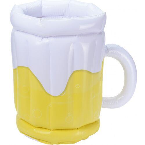 Free and Easy becherhalter Bierglas gelb/weiß 30 cm