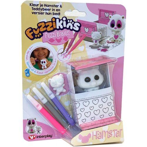 Fuzzikins bastelset Fuzzi Babyhamster 20 cm Karton 7 teilig