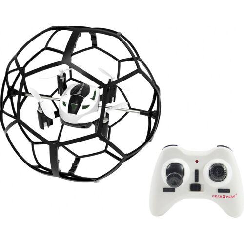 Gear2play mini Drohne Soccer Drone 9 cm weiß/schwarz S