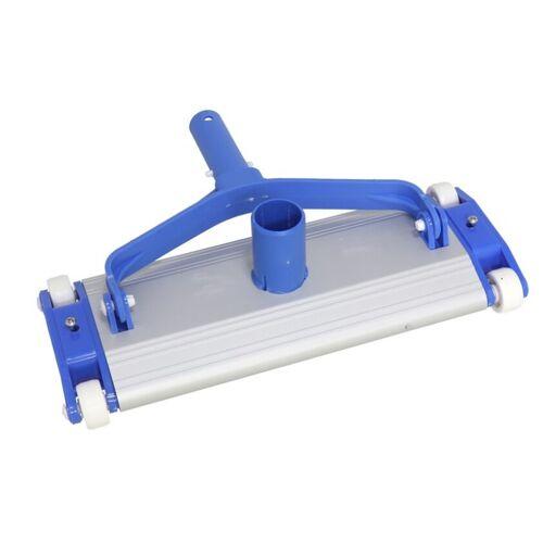 Gerimport poolreiniger 34 x 13 cm Aluminium blau/weiß