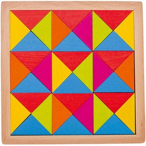 Goki puzzle Rainbow 15,5 cm junior holz 37 teilig