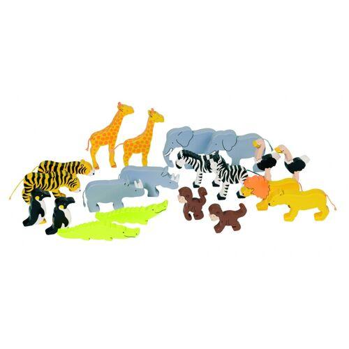 Goki Afrikanische Tiere Set 20 Stück