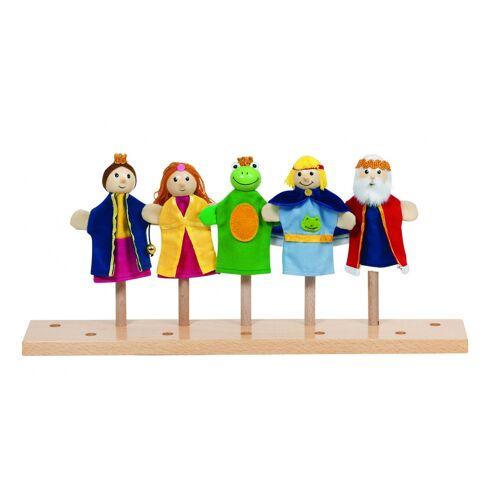 Goki Fingerpuppen Set Frog King 5 Stück 10 12 cm