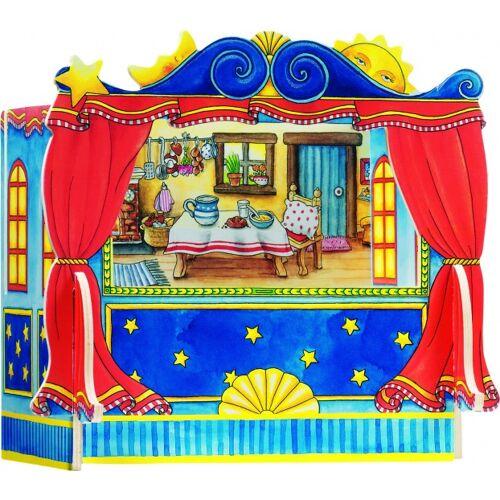 Goki Finger Puppentheater mit Oberflächen 5 28 x 20 x 25 cm