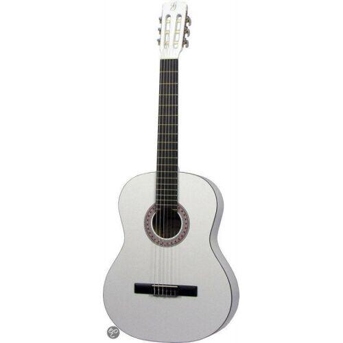 Gomez Klassische Gitarre 001 weiß 4/4