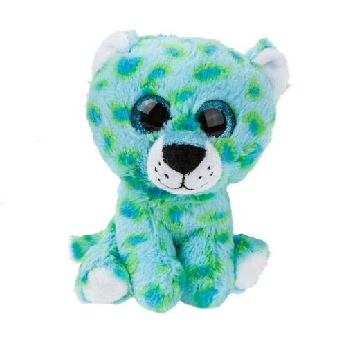 Kamparo plüsch Kuscheltier Gepard 16 cm junior blau