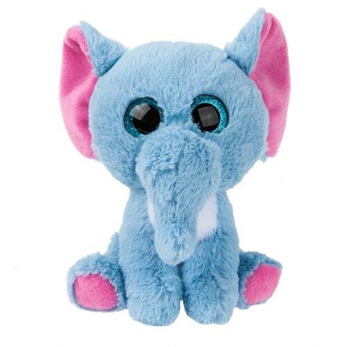 Kamparo plüschtier Elefant 22 cm blau