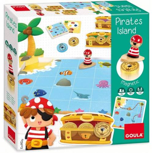 Goula brettspiel Pirateninsel Junior