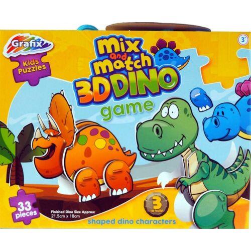 Grafix 3D Puzzle Dino 33 Teile