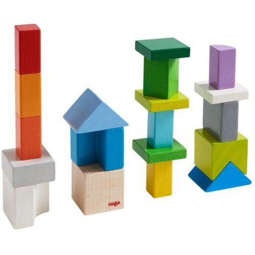 Haba zusammengesetztes Spiel Blocksmix 3D Junior Holz 19 Blöcke