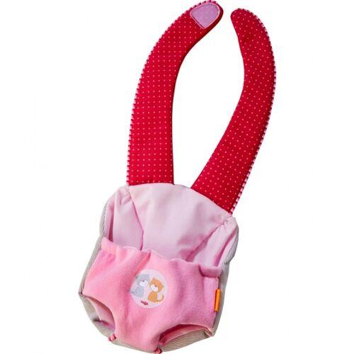 Haba babytrage Jule rosa/rot
