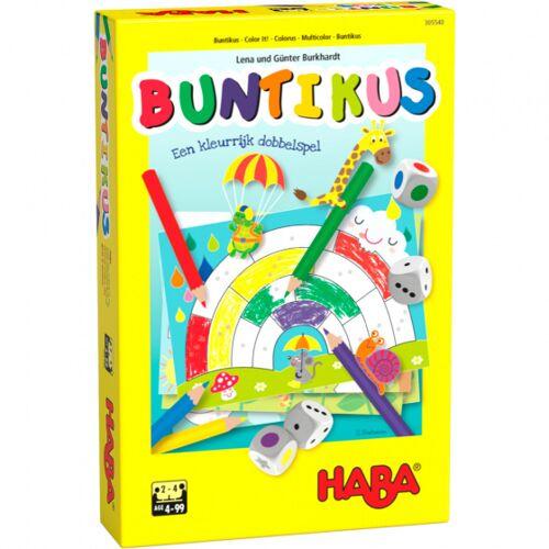 Haba brettspiel Buntikus junior Papier/Holz 18 teilig (NL)