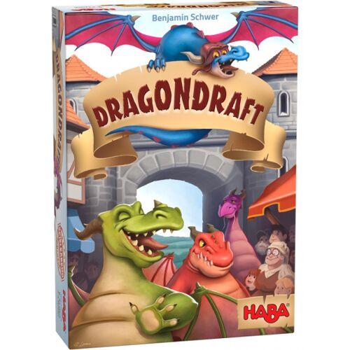 Haba brettspiel Dragondraft Karton/Holz 172 teilig
