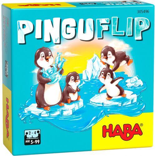 Haba brettspiel Pinguin Flip Junior Pappe/Holz 33 teilig (de)