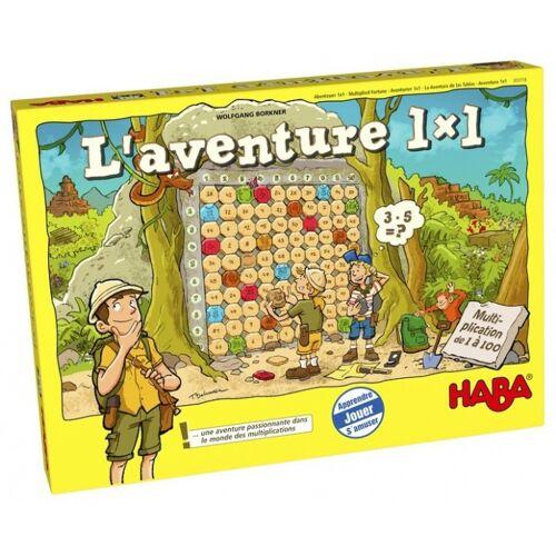 Haba Lernspiel L'Aventure 1 x 1 (FR)