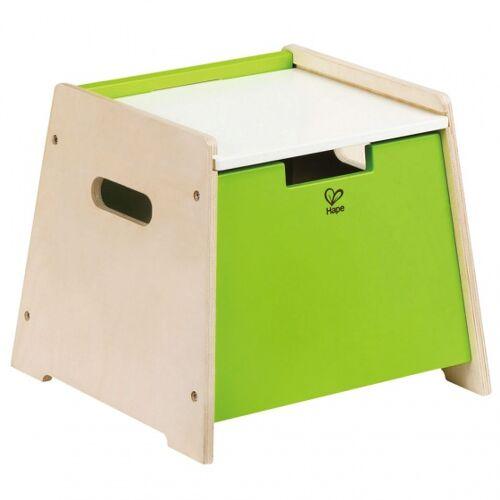 Hape holzablagehocker 63 x 23 x 51,5 cm grün S