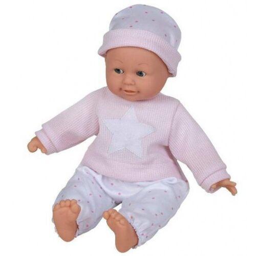 Happy People babypuppe Rosa mit Ton 40 cm Vinyl/PE rosa